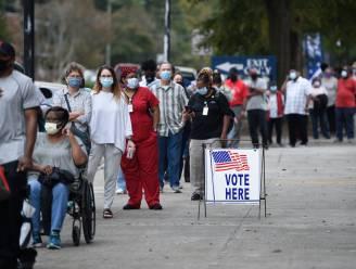 Amerikanen hebben op twee en halve week voor verkiezingen al meer dan 21 miljoen stemmen uitgebracht, en dat lijkt vooral slecht nieuws voor Trump