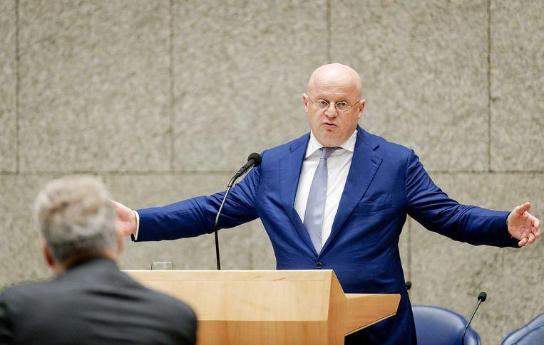 Minister Grapperhaus van justitie en veiligheid Beeld ANP