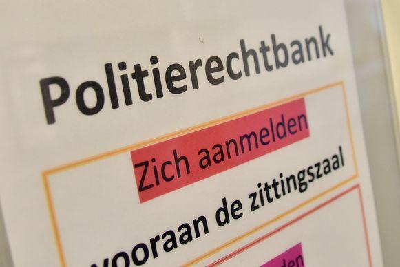 De politierechtbank in Kortrijk