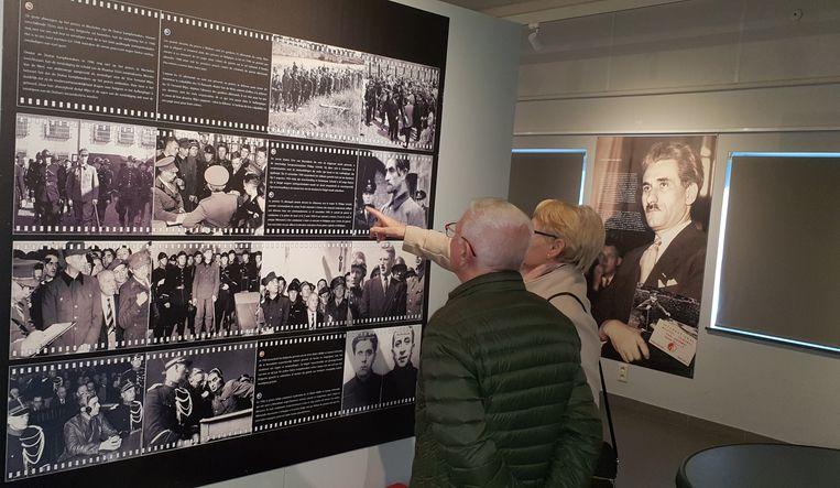 Na de plechtigheid werd de expo 'Nooit meer oorlog' geopend.