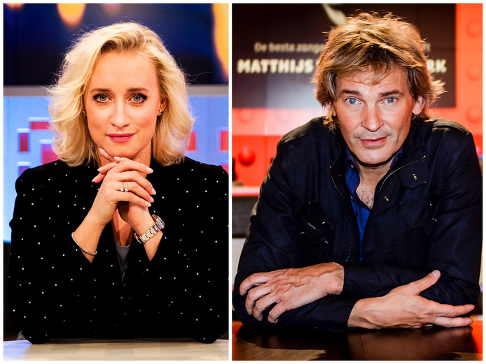 Eva Jinek en Matthijs van Nieuwkerk.