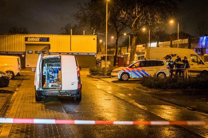 Beroving op industrieterrein in Eindhoven