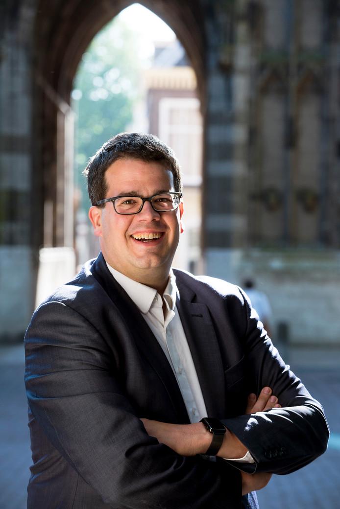 Dimitri Gilissen, fractievoorzitter Utrechtse VVD.