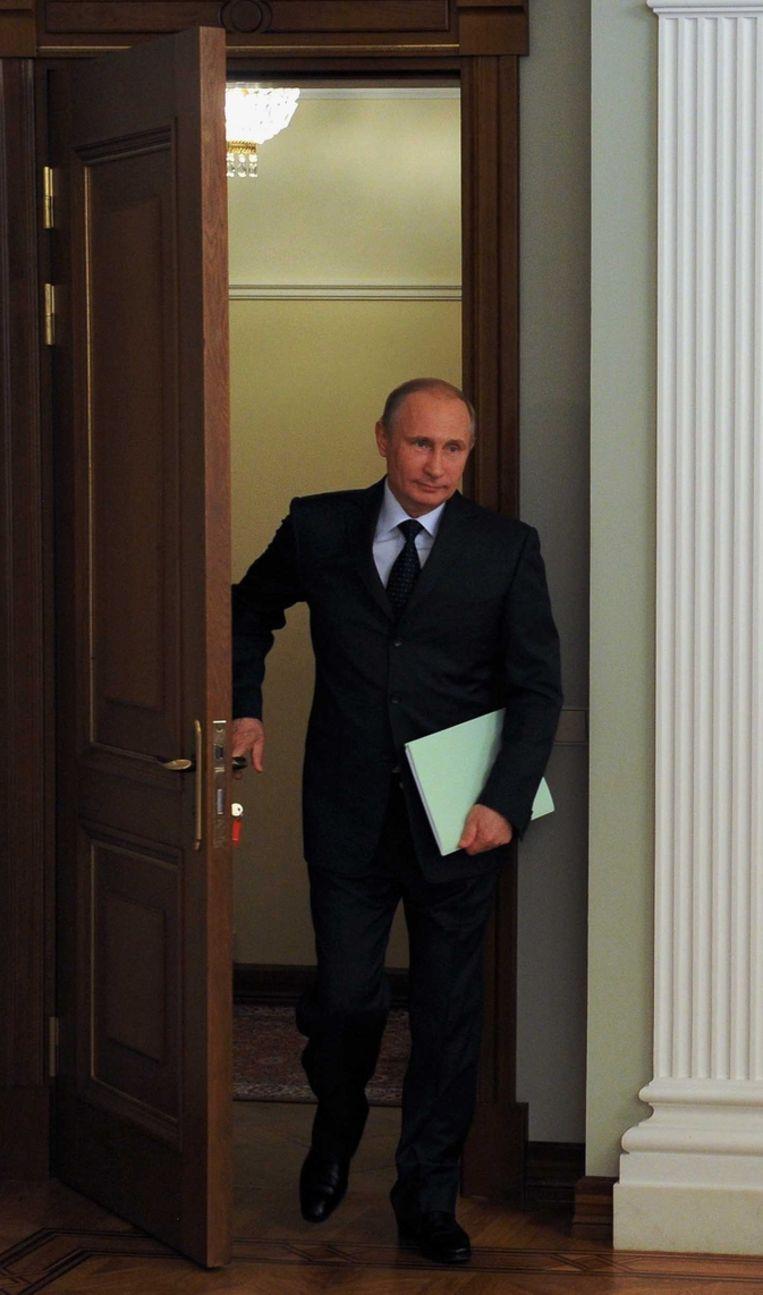 President Poetin van Rusland Beeld ap