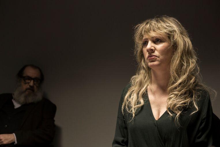 Maaike Cafmeyer speelt de rol van haar leven in binnenkort op VRT Nu - Foto Eyeworks, Thomas Nolf
