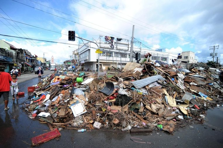 Tacloban. Beeld getty