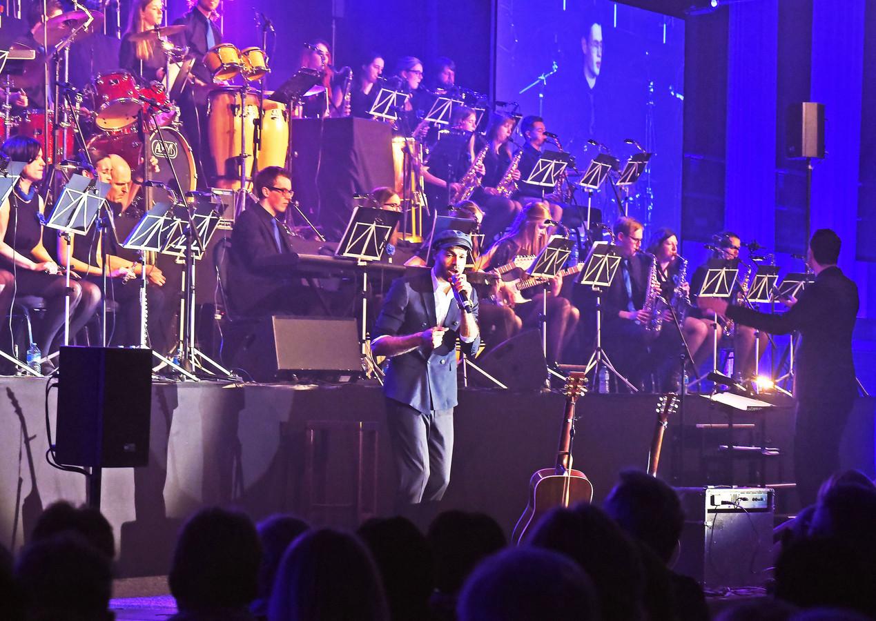 Concert The Young Ones in 2018 met gastartiest Alain Clark.