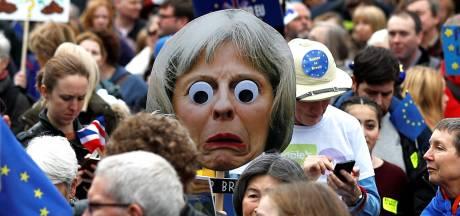 Honderdduizenden Britten op de been in Londen voor mars tegen brexit