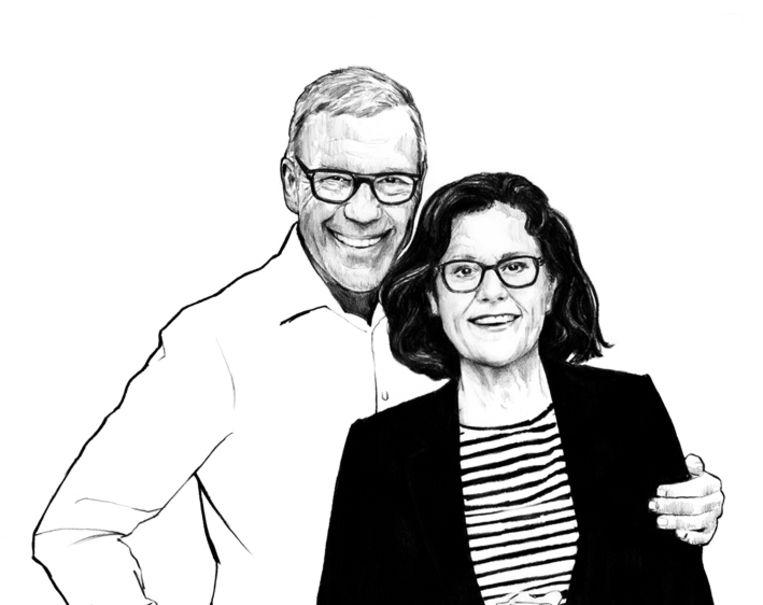 Mijnheer en mevrouw Hamersma. Beeld Sjoukje Bierma