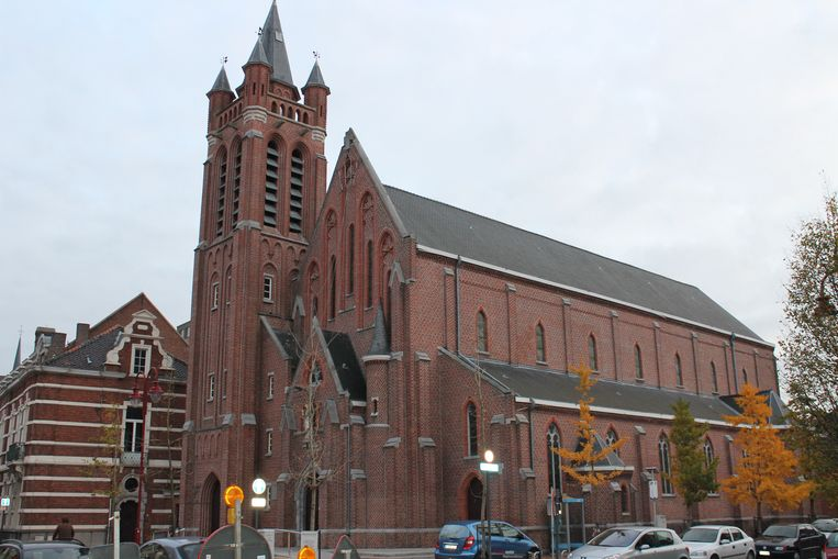 De Heilig-Hartkerk in Izegem.