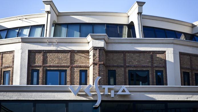 Het hoofdkantoor van de woningcorporatie Vestia op het Kruisplein in Rotterdam.