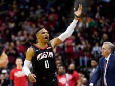 Houston Rockets-ster Westbrook heeft corona