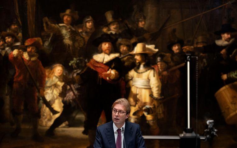 Taco Dibbits, directeur van het Rijksmuseum. Beeld ANP