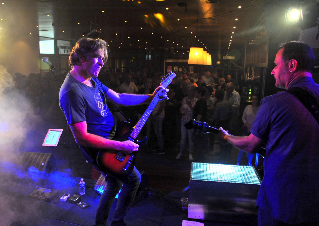 Ook De Wibra's traden zaterdagavond tijdens Da D'Enck op. Foto bert Jansen/fotomeulenhof