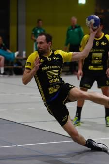 Handballers Houten weer een stap dichter bij titel in eredivisie