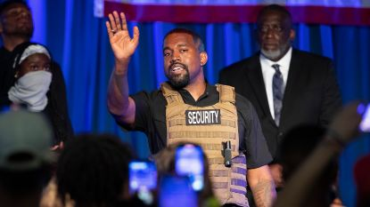 """""""Kanye West wil vooral Joe Biden dwarsbomen met zijn gooi naar het Witte Huis"""""""