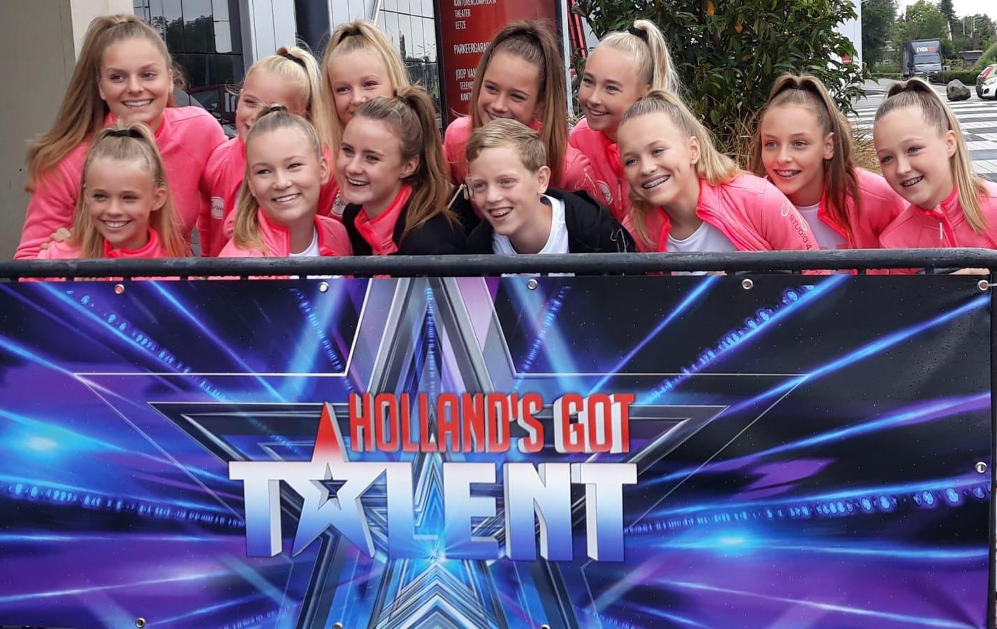 Dancestudio Janien uit Wierden is succesvol in Holland's Got Talent.