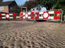 De Spinnersdonk leek bij de 200-nummers wel een strand, waar het eb was.