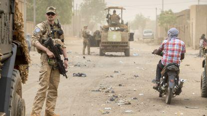 Drie Belgische militairen gewond in Mali