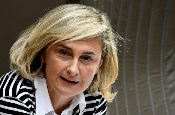 Minister van Onderwijs Hilde Cretis was niet bij de voorstelling van de resultaten.