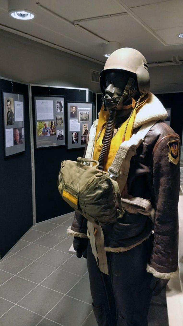 Tentoonstelling over de crash van een bommenwerper in Leefdaal.