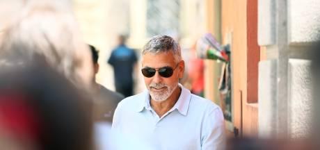 Clooney weer fit als een hoentje na scooterongeluk