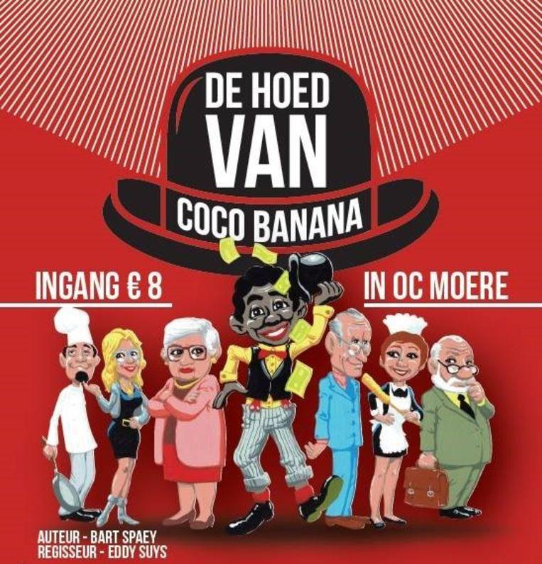 De affiche van 'De hoed van Coco Banana'.