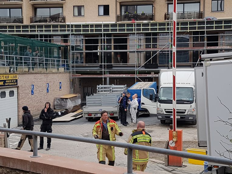Het Casino Hotel werd ontruimd door chloorgasdampen. Ook arbeiders die bezig waren met een renovatie dienden zich uit de voeten te maken.