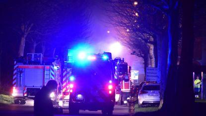 Al 2.071 gebruikers van BE-Alert, na hevige brand in chemiebedrijf Matco