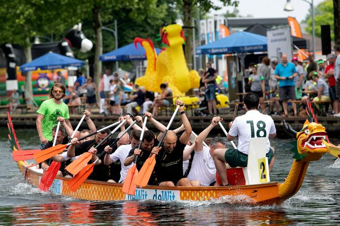 Een van de edities van het Drakenbootfestival in Helmond.