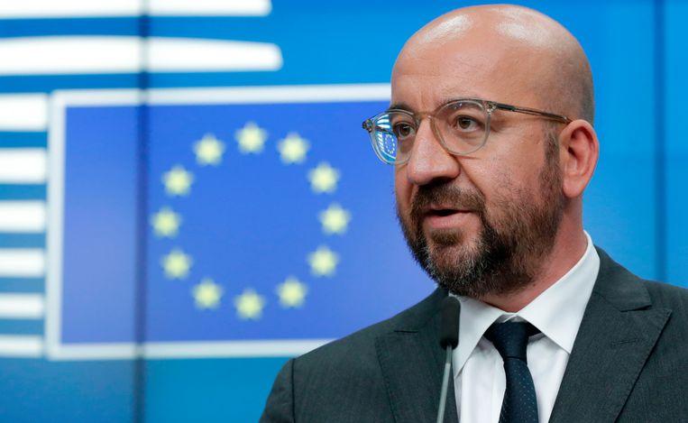 Europees Raadsvoorzitter Charles Michel.