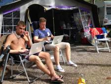 Dát is balen! Geen of slechte WiFi op de camping