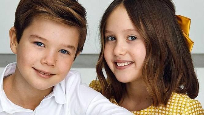 Deense royal-tweeling viert 10de verjaardag met nieuwe foto's