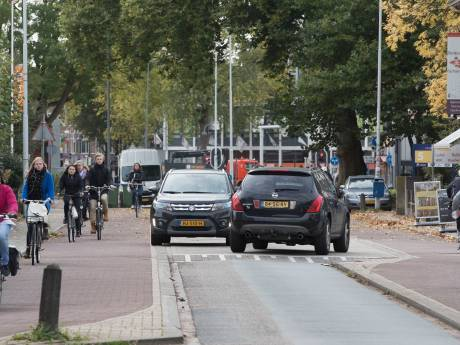 Churchillweg Wageningen wordt fietsstraat, ander plan Bennekom