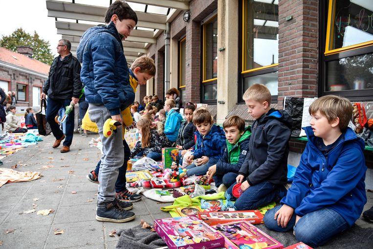 Zo zag de kinderrommelmarkt in Dendermonde er onlangs uit.