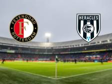 LIVE | Feyenoord nog zoekende in openingsfase tegen Heracles
