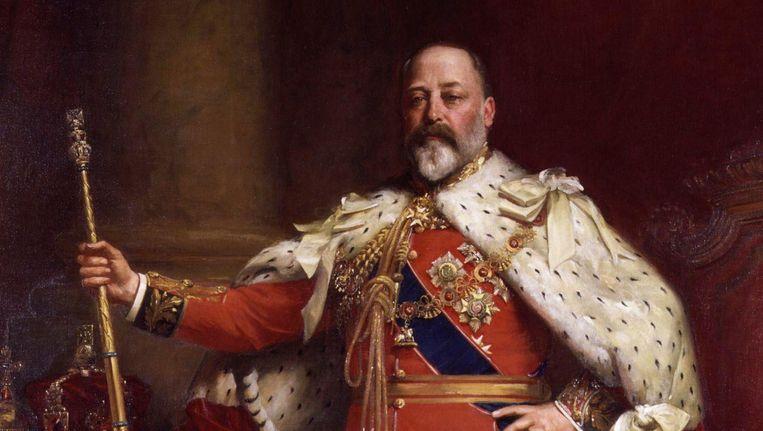 Koning Edward VII Beeld Luke Fildes, via Wikimedia Commons