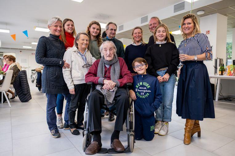Jan Verroken viert zijn 103de verjaardag in WZC De Muze