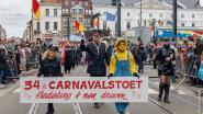 34ste Carnavalstoet trekt door Ledeberg