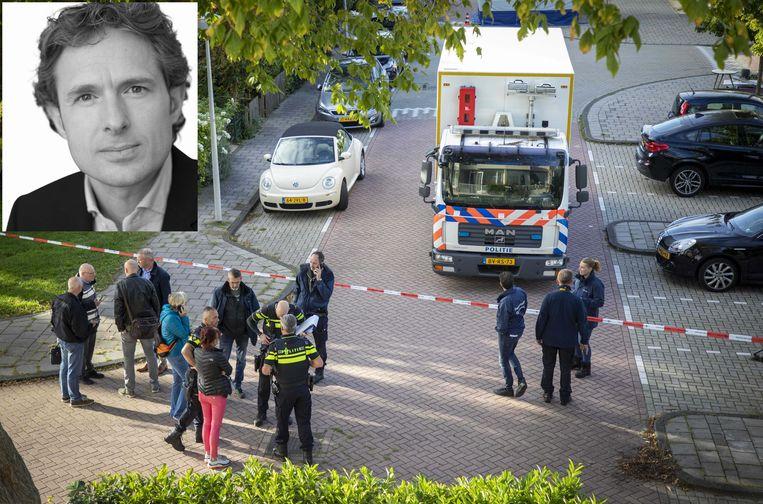 Wiersum werd midden op straat in Amsterdam doodgeschoten.