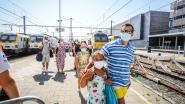 Controles op treinreizigers vallen mee: bijna iedereen mag gewoon Blankenberge binnen