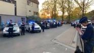 Politie applaudisseert voor zorgverleners van Imeldaziekenhuis