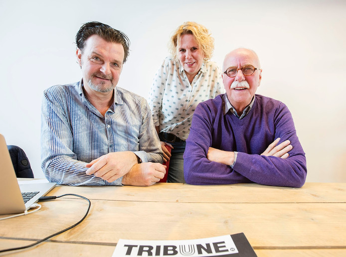 Guido van Erp (links), Anita Smits en Cor van Gils