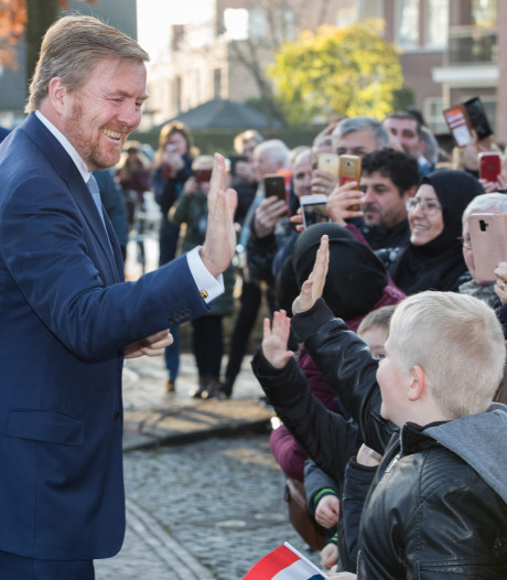 Trots Raalte legt rode loper uit voor Koning Willem-Alexander