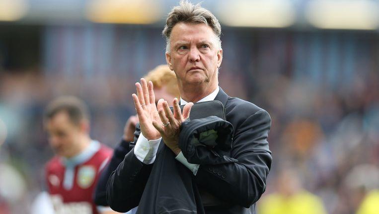 Louis van Gaal tijdens de English Premier League Beeld anp