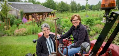 Wieden, knippen, steunen en snoeien voor Open Tuinen Weekend in Haaksbergen