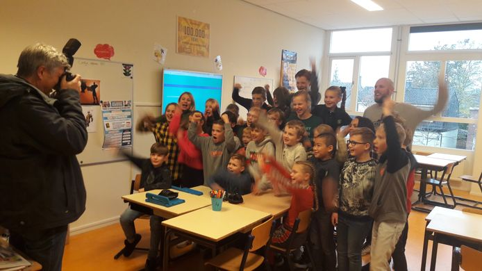 Groep 6/7/8 van basisschool De Uitvinding in Enschede is de meest mediawijze klas van Overijssel