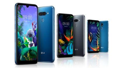 LG presenteert drie midrange-smartphones