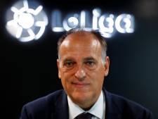 Tebas vreest vertrek topspelers uit La Liga door verhoging van belasting