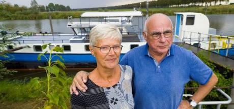 Als het moet, willen Margot en Hans wel weg voor Waalwijkse haven ... maar dat heeft een prijs